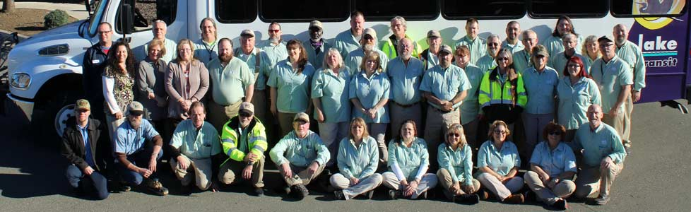Slide – Lake Transit Team